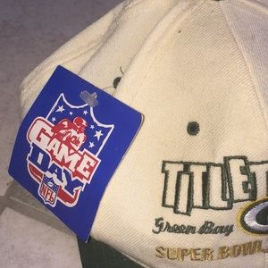 747b15144 NFL Accessories - NWT Vintage Packers Super Bowl XXXI Wool Hat